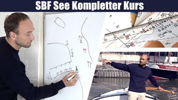 SBF-Videokurs App inkl. Fragentrainer (SBF See kompletter Kurs)