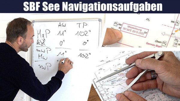 SBF-App Modul (SBF See Navigationsaufgaben)